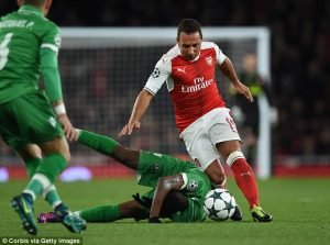 Santi Cazorla leaves Arsenal
