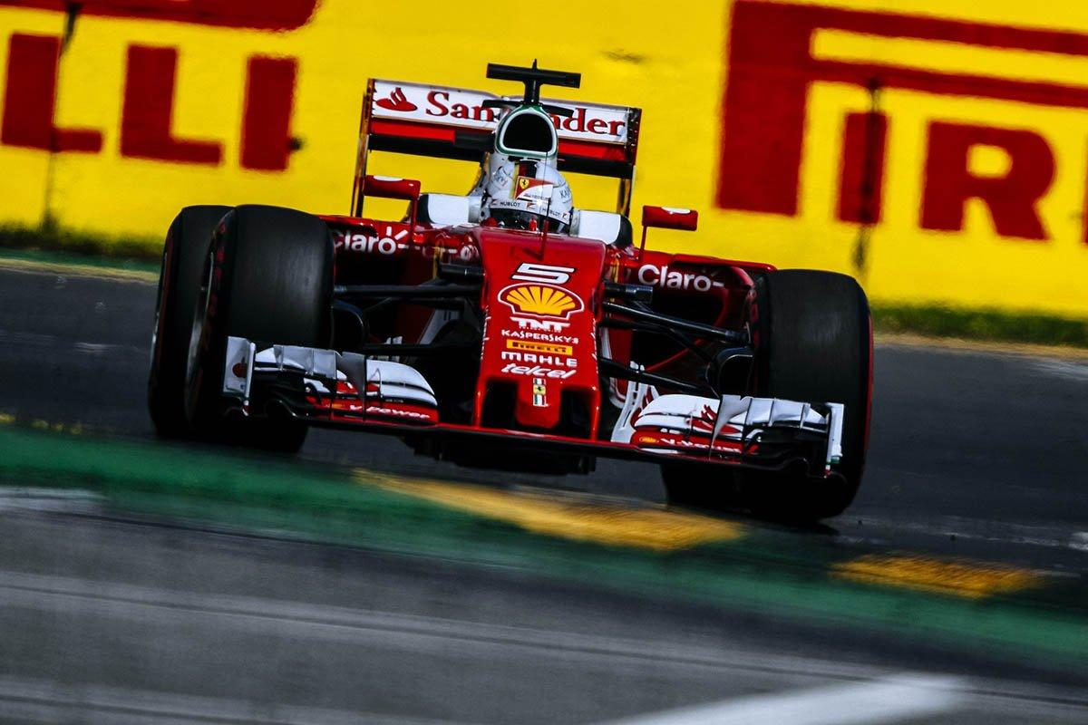 Vettel at Australia had a good outing .