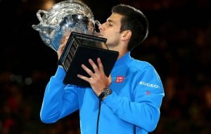 Djokovic after winning 2016 Australian Open