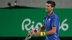 Novak Djokovic lost in the first round of singles at the Rio 2016 Games