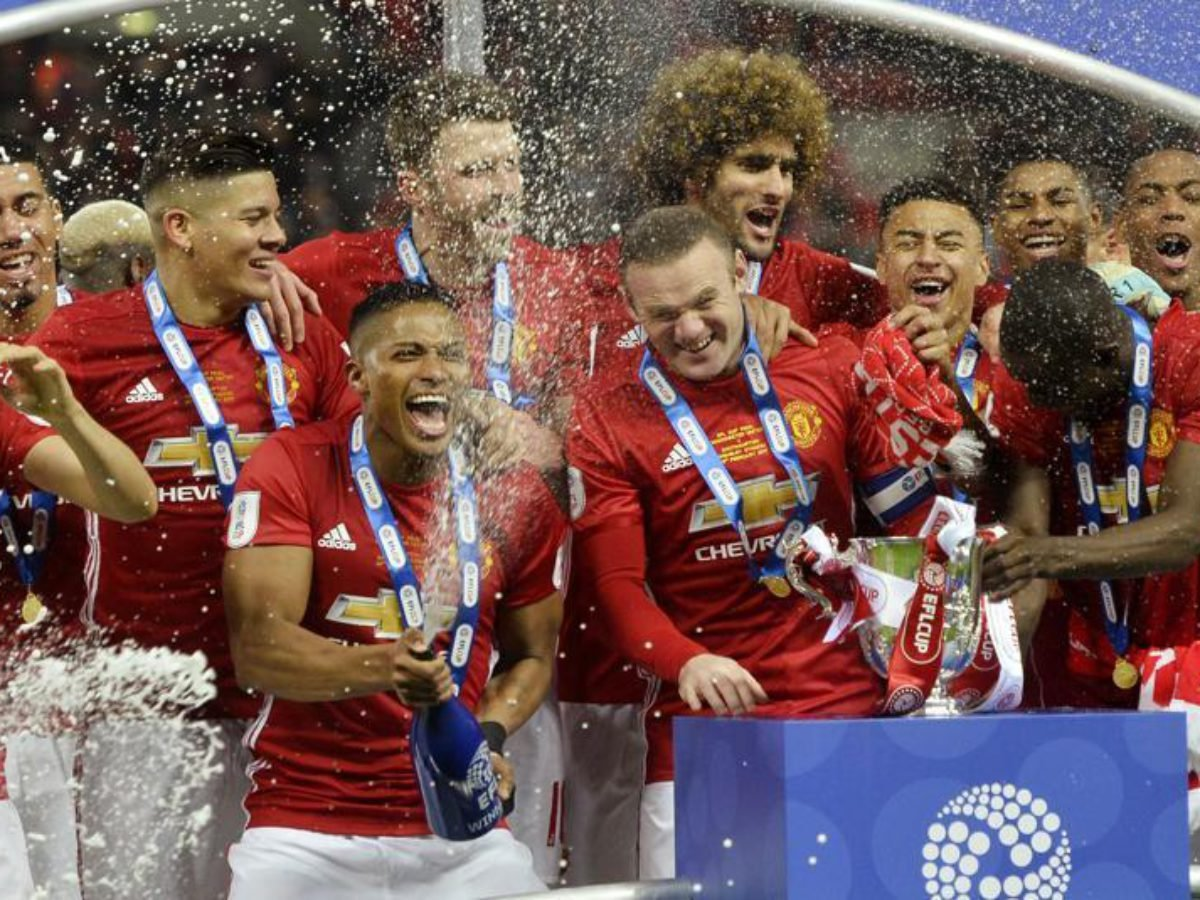 Twitter Reacts As Manchester United Win The Efl Cup Final