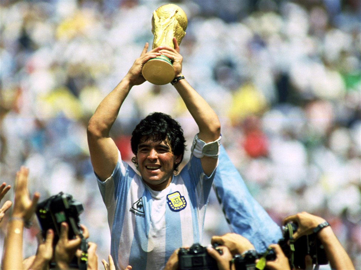 Where Diego Armando Maradona is a God, Literally