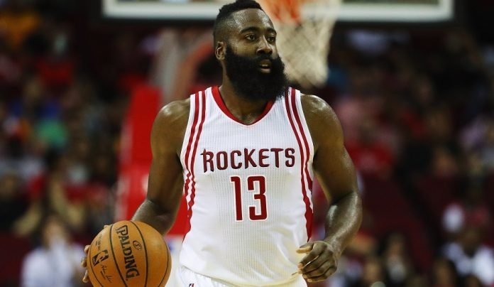James Harden of Houston Rockets