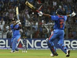 Dhoni world cup final six