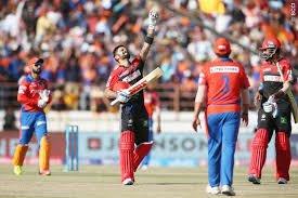 Kohli century vs Gujarat Lions