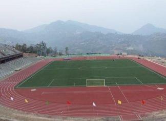 Aizwal stadium