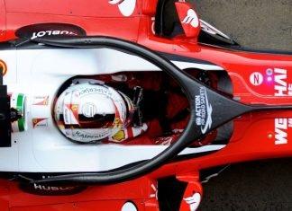 Halo on a Ferrari