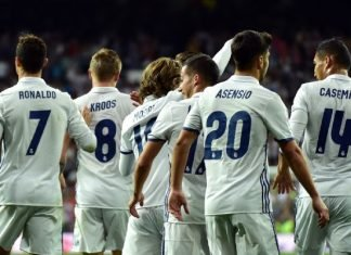 Real Madrid just a win away from clinching the la liga title