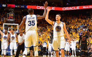 Golden State Warriors En Route To NBA Finals Sweep Following Game 2 Win - essentiallysports.com