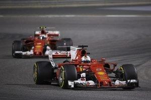 Vettel and Raikkonen