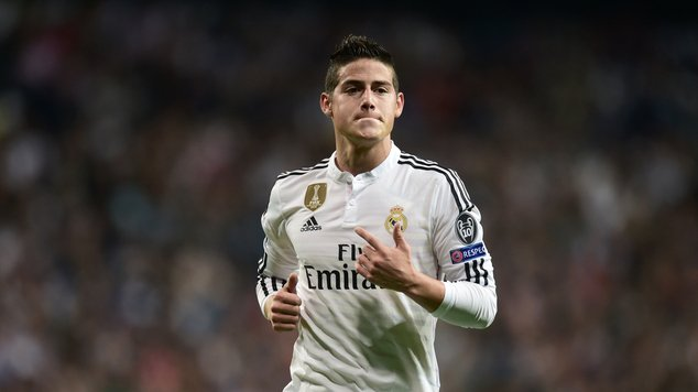 James is desperate to make a return to Real Madrid.