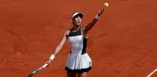 Muguruza knocked out of French open 2017