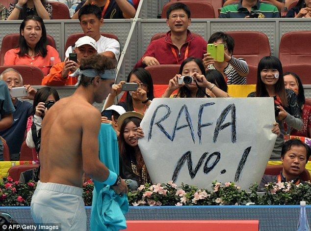 Rafa's surge to world no 1