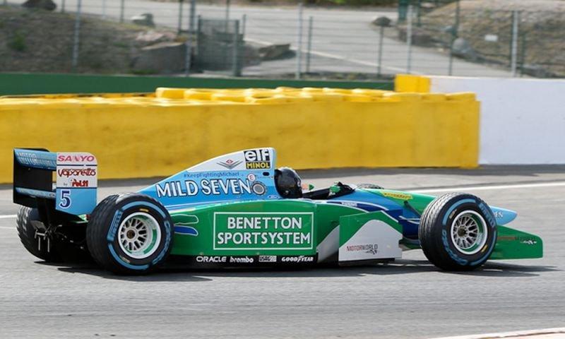 History Repeats Itself As Mick Schumacher Drives Michael S Benetton At Spa Essentiallysports