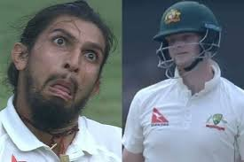 Ishant Sharma vs steve smith
