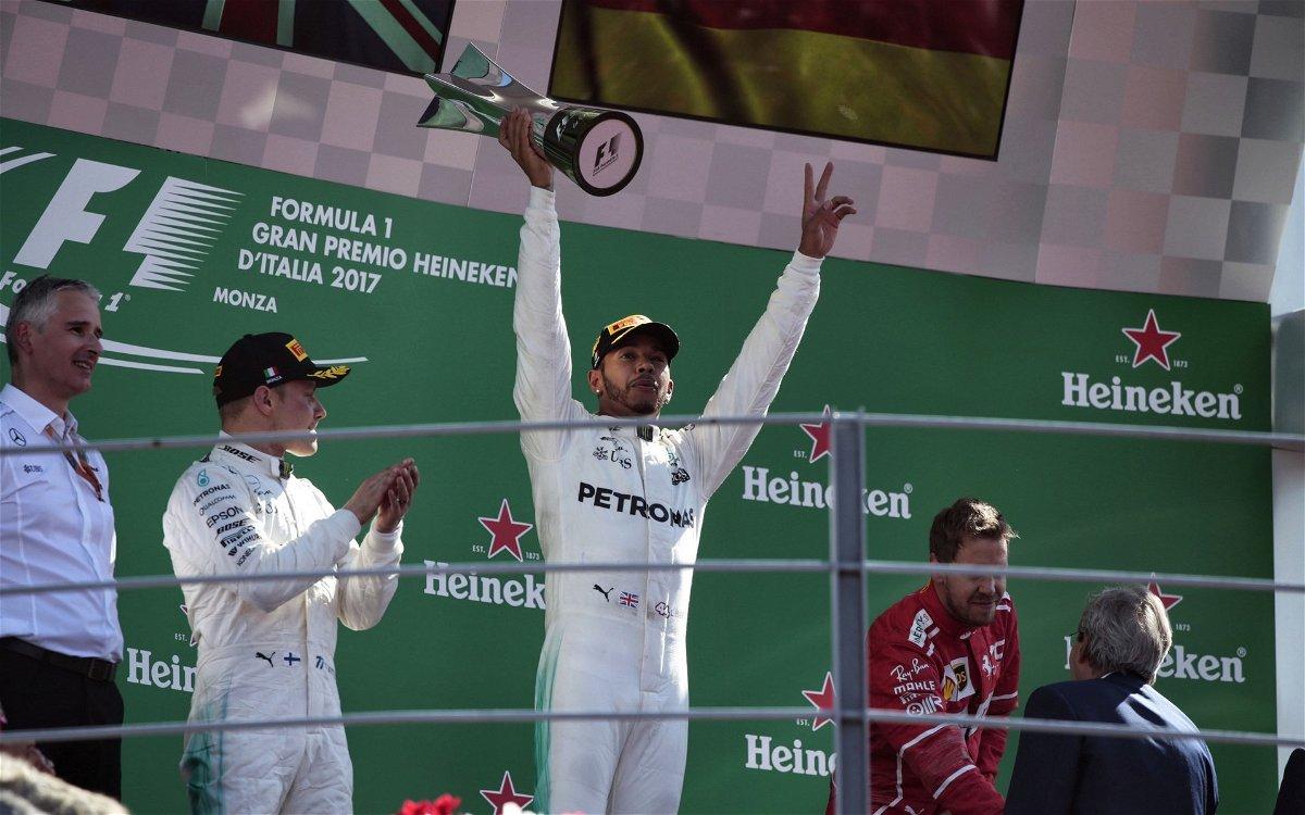 Hamilton at Monza
