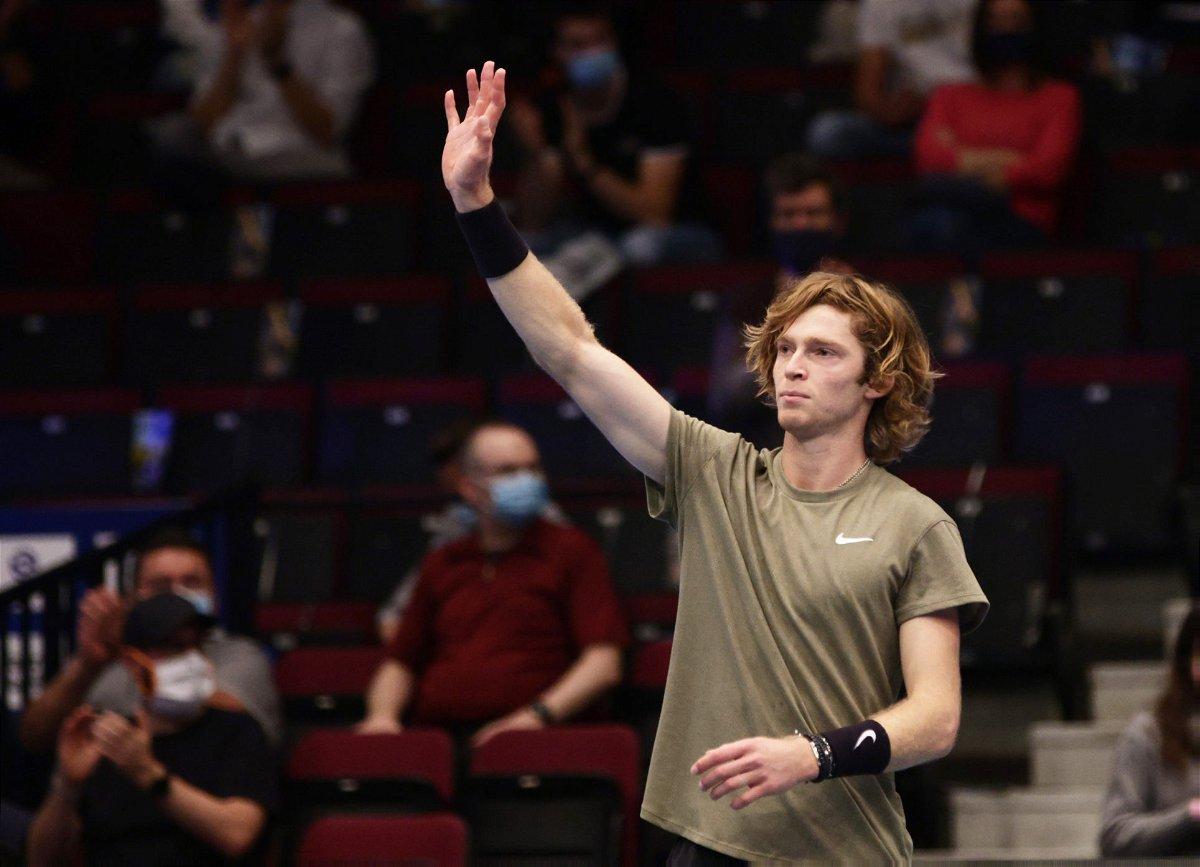 Andrey Rublev - Vienna Open 2020