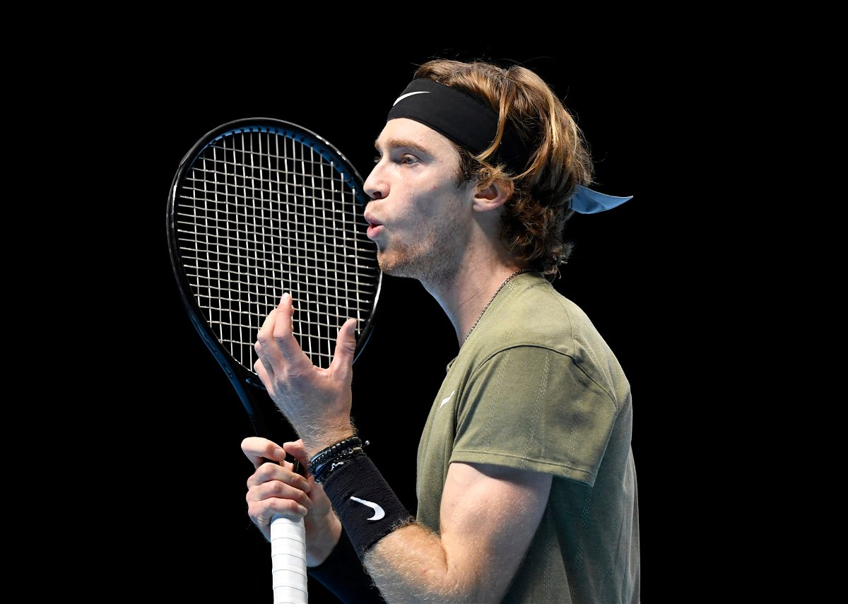 Andrey Rublev disappointed at ATP Finals 2020