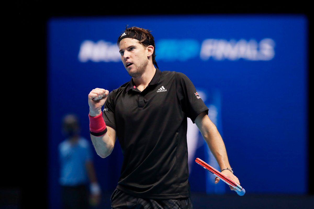 Dominic Thiem at ATP Finals 2020