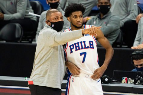 '1 2 3, Championship!': Doc Rivers Delivers an Inspiring Locker Room Speech to 76ers