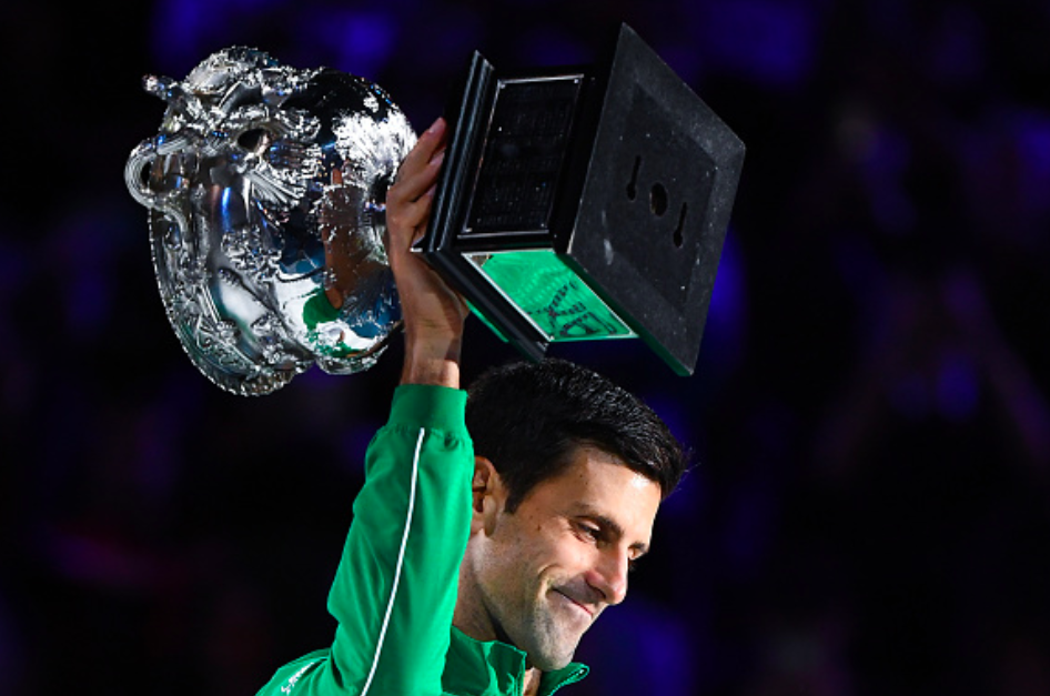 Twitter Erupts As Novak Djokovic Lifts His Eight Australian Open Title Essentiallysports