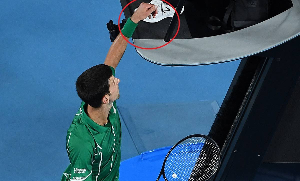 The Second Violation Was Not Necessary Novak Djokovic Not Happy With Australian Open Finals Umpire Decisions Essentiallysports
