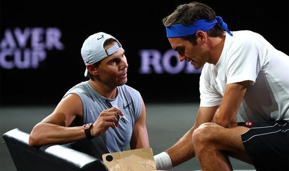 If Somebody Could Bring Rafael Nadal To South Africa It S Me Roger Federer Essentiallysports