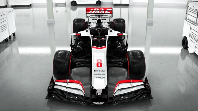 Haas Unveils Their 2020 F1 Challenger With a New Livery - Essentially Sports