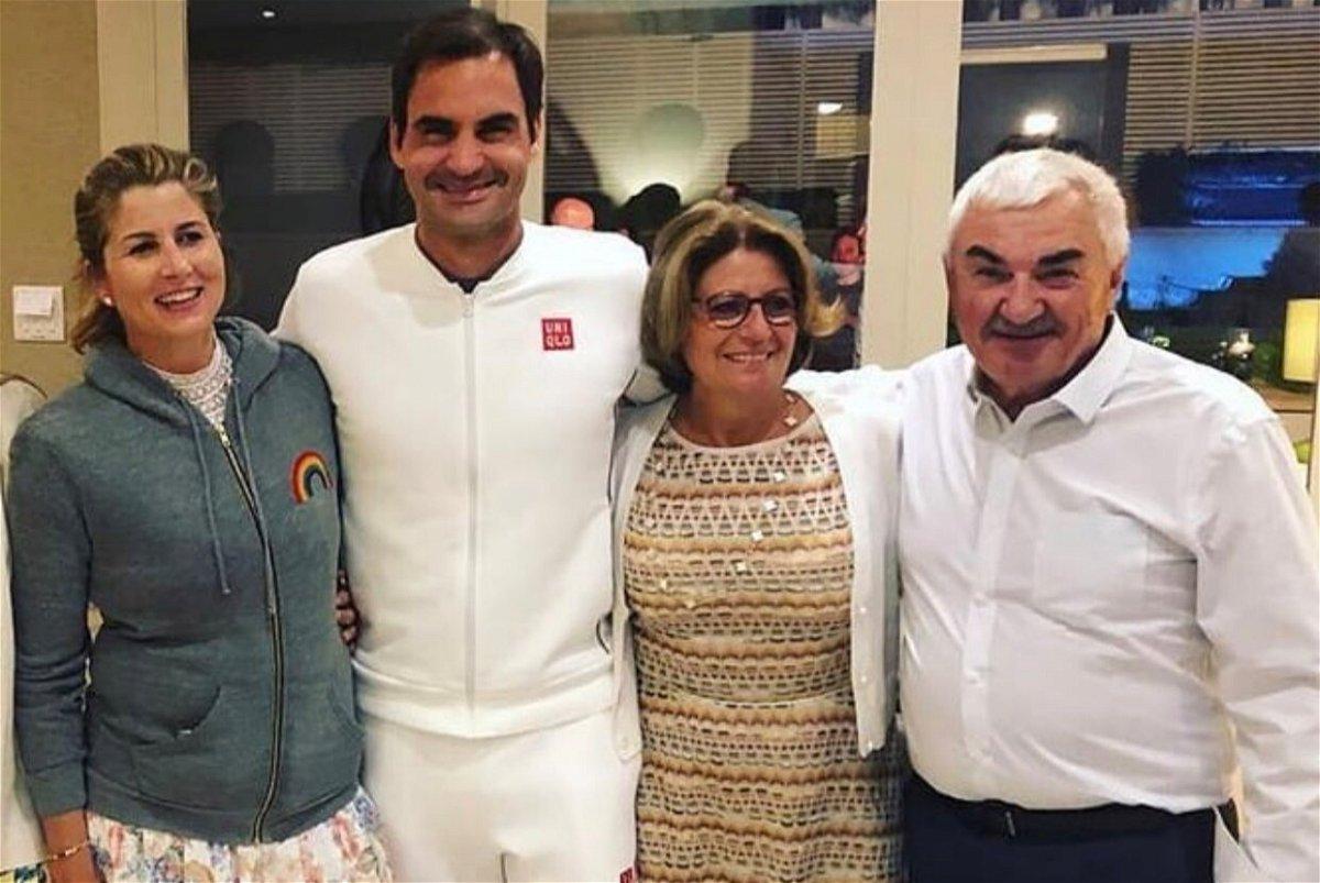 My Girls Speak Three Languages Roger Federer Essentiallysports