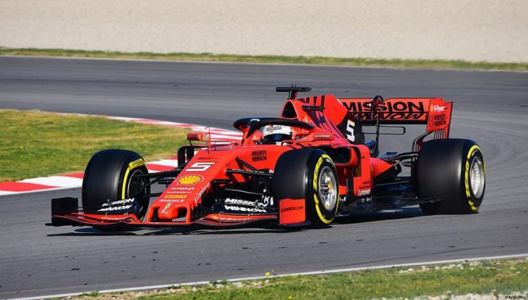 Ferrari 2019 F1 car