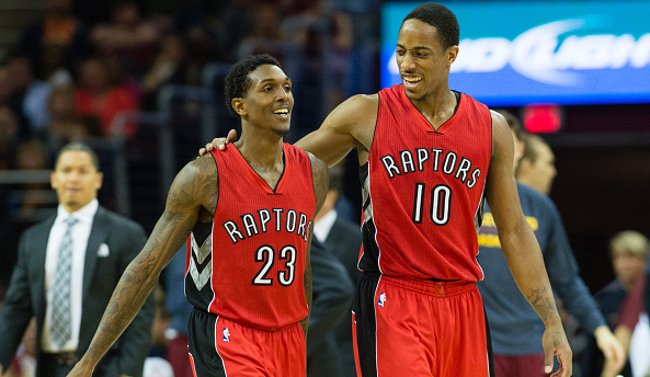 Lou Williams and DeMar DeRozan