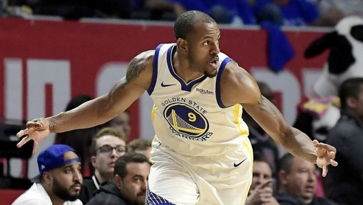 Andre Igoudala was one of the winners of the NBA Trade Deadline