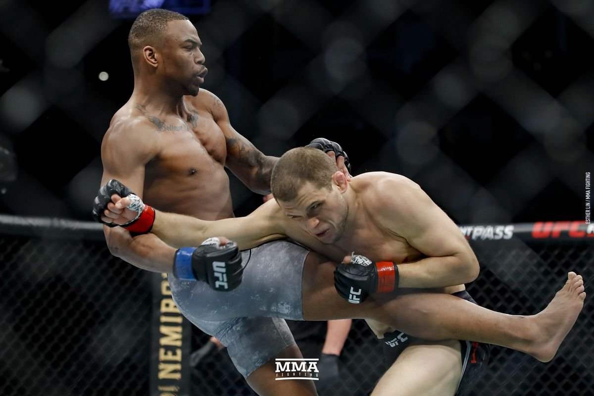 UFC 247: Watch a Scary Knock Out by Khaos Williams on His UFC Debut - Essentially Sports