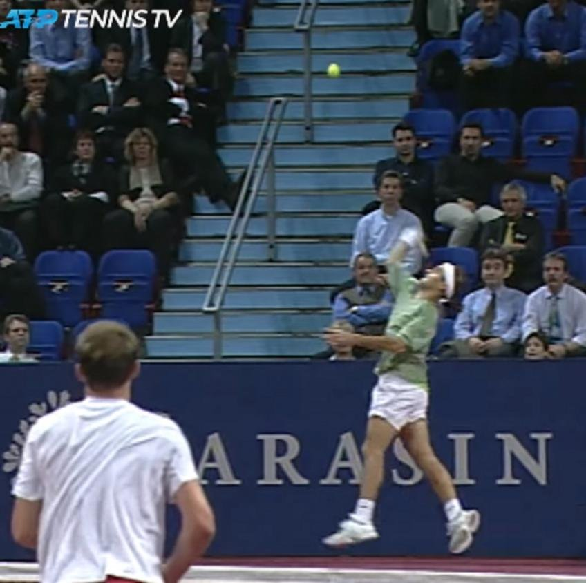 WATCH: 20 God Mode Roger Federer Shots - Essentially Sports