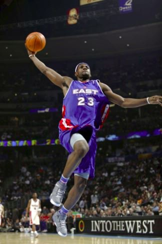 NBA All-Star Game Throwback: Lebron James' All-Star Debut thumbnail