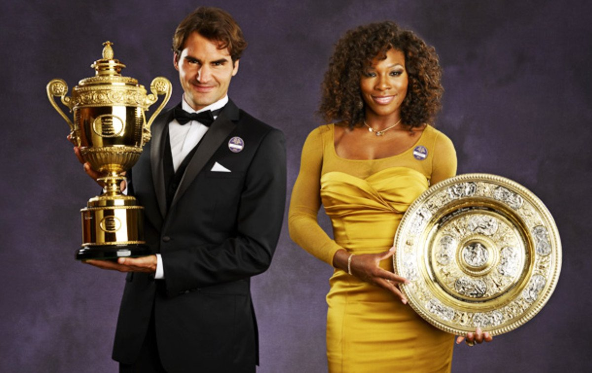 Serena Williams And Her Wimbledon Wins With The Big Four Essentiallysports