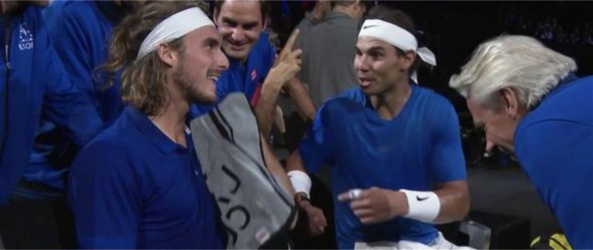 Stefanos Tsitsipas Reveals Amusing Story About Roger Federer And Rafael Nadal thumbnail