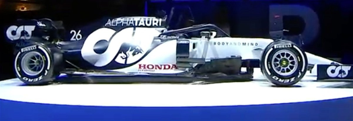 Alphatauri Launch Their Beautiful Looking 2020 F1 Car The At01 Essentiallysports