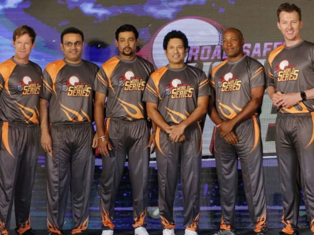 Sachin Tendulkar and India Legends