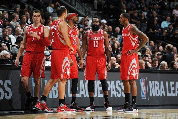 Houston Rockets players