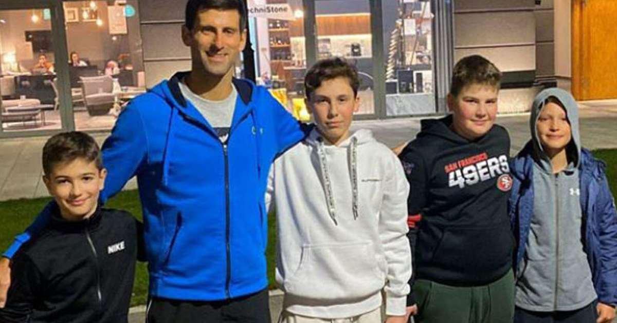 Novak Djokovic On His Tennis Game On Belgrade Street Essentiallysports