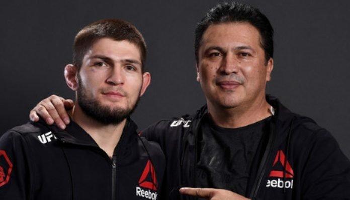 Javier Mendez and Khabib Nurmagomedov