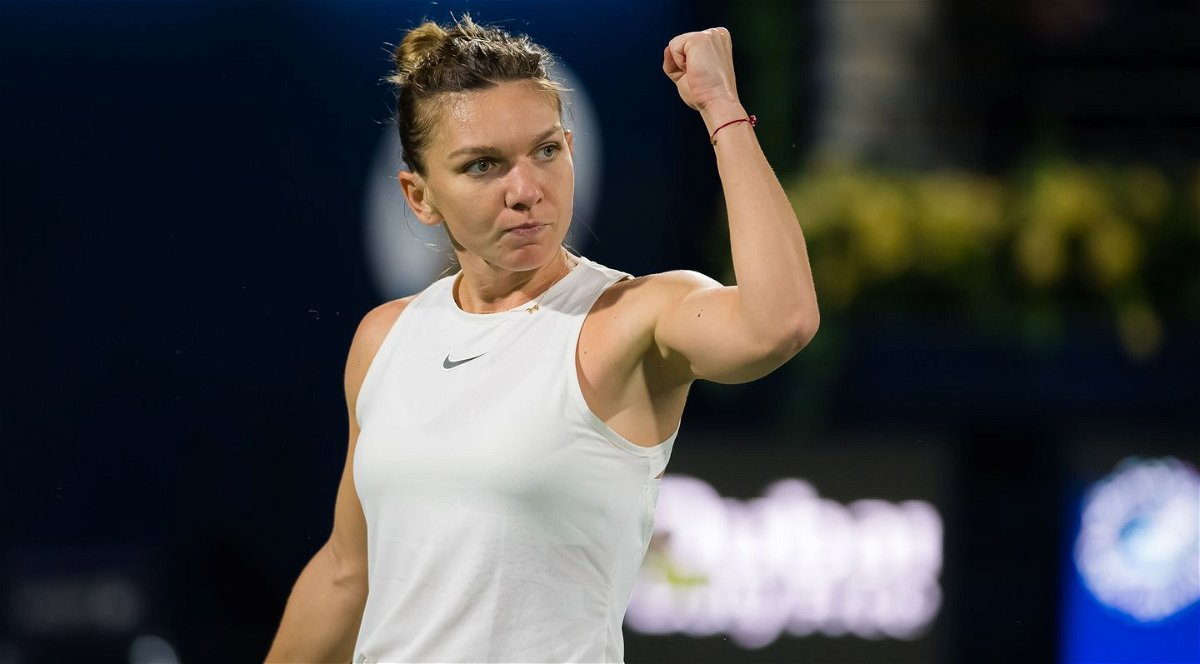 SIMONA HALEP at French Open Tennis Tournament 2018 in