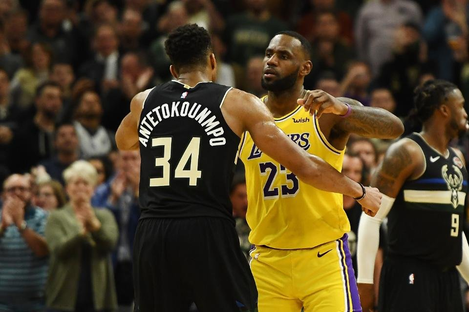 "He Just Leads the Path For Us"": Giannis Antetokounmpo Sees LeBron ..."
