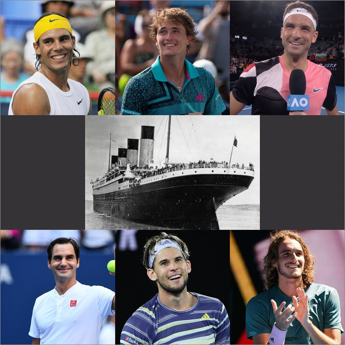 What If Roger Federer, Rafael Nadal And Other Tennis Stars Were On The Titanic? thumbnail
