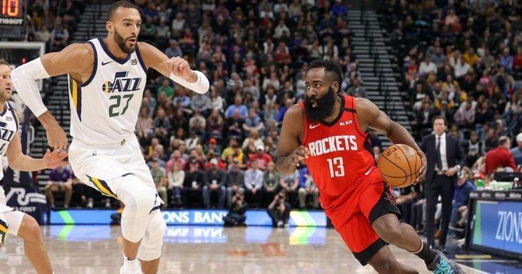 Houston Rocekts vs Utah Jazz