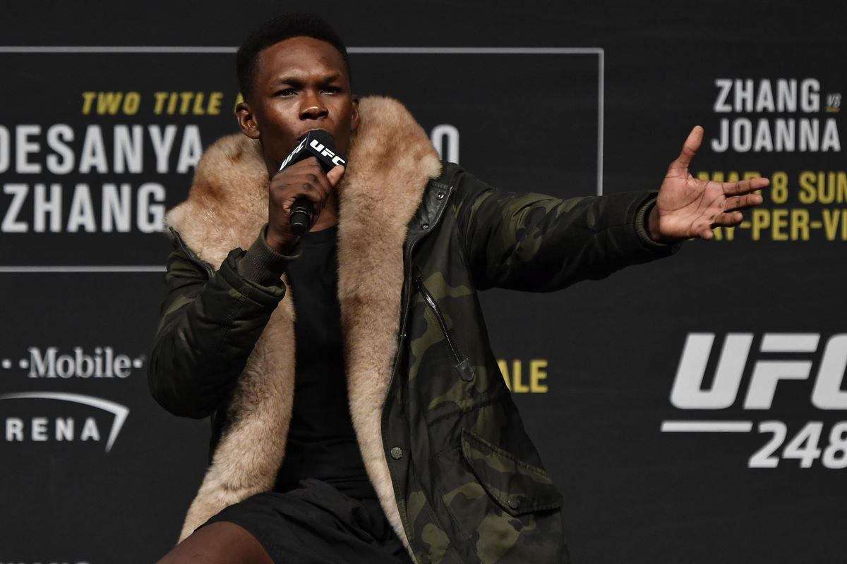 """Israel Adesanya Issues an Apology For """"Twin Tower"""" Comments - Essentially Sports"""