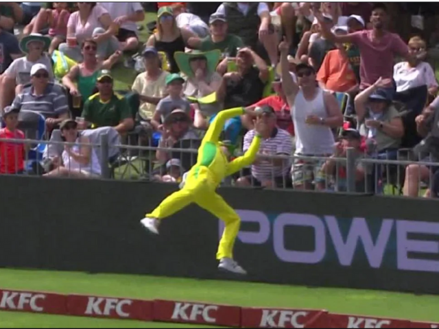 Steve Smith superman catch