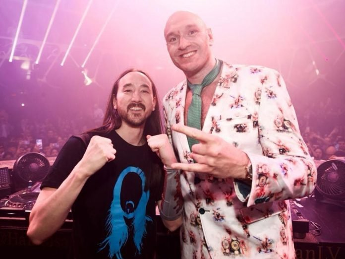 Tyson Fury Celerates His Victory In A Vegas Night Club