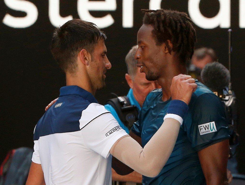 Best Athlete In Tennis Novak Djokovic Lauds Frenchman Gael Monfils Essentiallysports